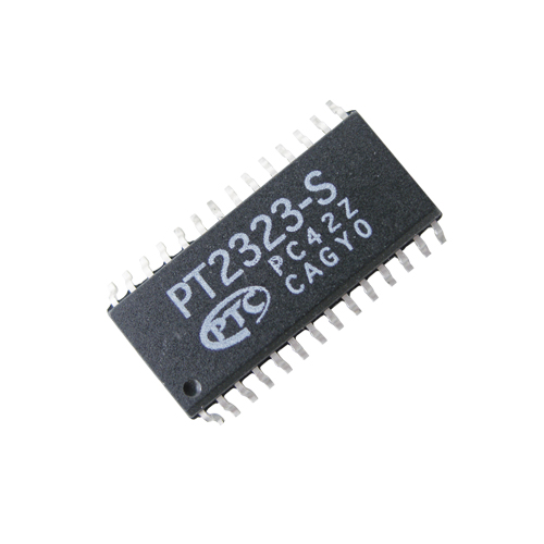 PT2323 SMD NF audio prepínač 6 kanálov