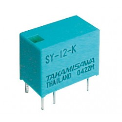 Relé 12V 0.5A 125VAC 1x prep. SY-12-K