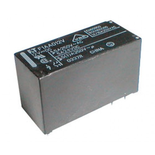 Relé 12V 5A 250VAC 1x prep. FTR-F1 AA012V