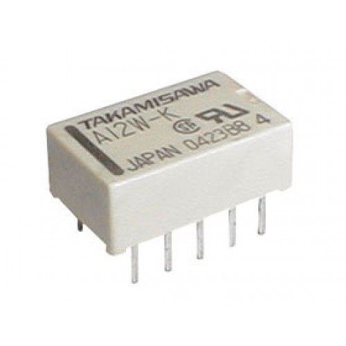Relé 5V 0.5A 125VAC 2x prep. A5W-K
