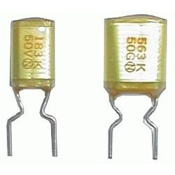 Kondenzátor zvitkový 47N 50V AMZV rm5 C DOPREDAJ