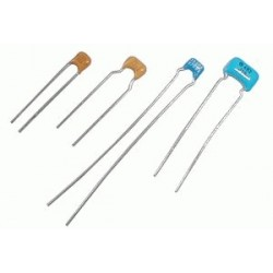 Kondenzátor keramický 100N 50V mono rm5