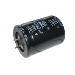 Kondenzátor elektrolytický 4G7 100V 35x50 rad.C SNAP-IN