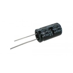 Kondenzátor elektrolytický 220M 100V 13x25-5 105*C rad.C