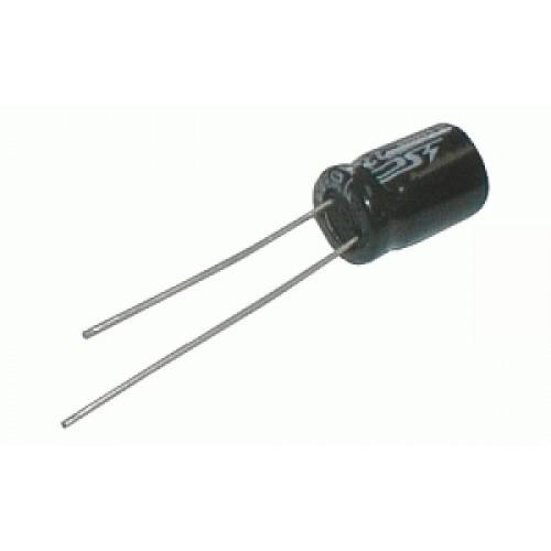 Kondenzátor elektrolytický 100M 50V 8X12-3.5 105*C rad.C