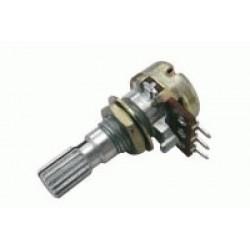 Potenciometer 1M N mono 6 20mm