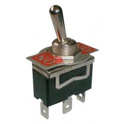 Prepínač páčkový 2pol. 3pin ON-ON 250V 10A