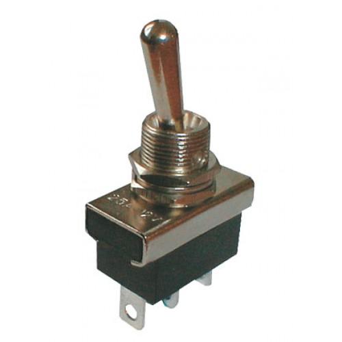 Prepínač páčkový 2pol. 3pin ON-ON 12V