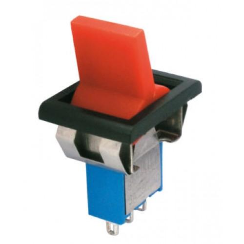 Prepínač páčkový 2pol. 3pin ON-ON plastic II 12V