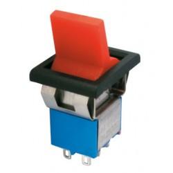 Prepínač páčkový 2pol. 6pin ON-ON plastic II 12V