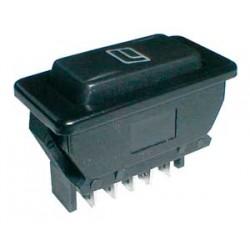 Prepínač kolískový auto 20A 12VDC presvetlený