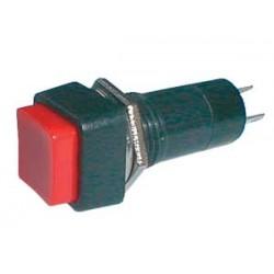 Prepínač tlačítko štv. ON-OFF 250V 1A červené