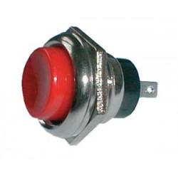 Prepínač tlačidlo guľ. OFF- (ON) veľký červený