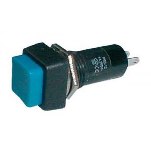 Prepínač tlačítko štv. OFF-(ON) 250V 1A modré