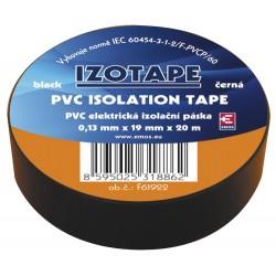 Izolačná páska PVC 19 20m čierna