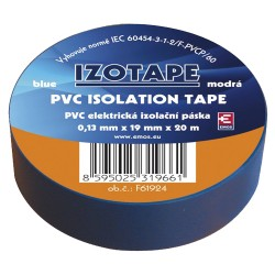 Izolačná páska PVC 19 20m modrá