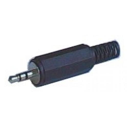 Konektor Jack 2.5 stereo plast