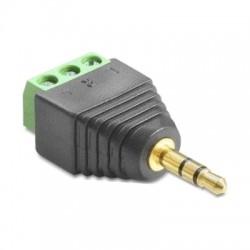 Konektor Jack 3.5 stereo so svorkovnicou