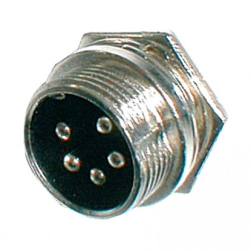 Konektor MIC panel kov 5PIN skrutkovací