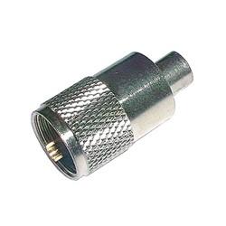 Konektor UHF (PL) kábel 5mm (RG58) samorez.-twist on