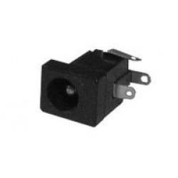 Konektor DC2.5mm panel plast ploš.spoj