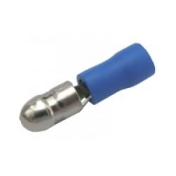 Konektor kruhový 5mm, vodič 1.5-2.5mm modrý