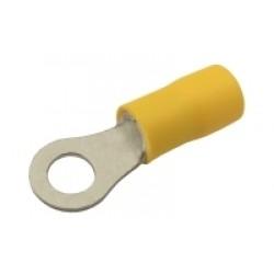 Očko 5.3mm, vodič 4.0-6.0mm žlté