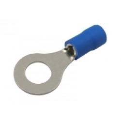 Očko 6.5mm, vodič 1.5-2.5mm modré
