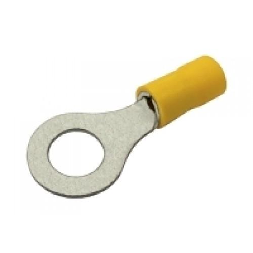 Očko 8.4mm, vodič 4.0-6.0mm žlté