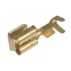 Zdierka faston rozvádzač 6.3mm neizolovaná