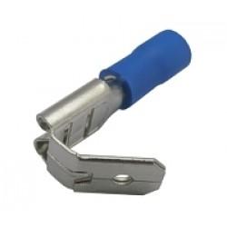 Zdierka faston rozvádzač 6.3mm, vodič 1.5-2.5mm modrý