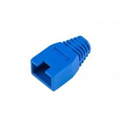 Kryt gumový pre konektor RJ45, modrý
