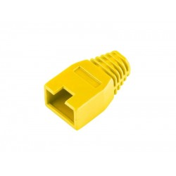 Kryt gumový pre konektor RJ45, žltý