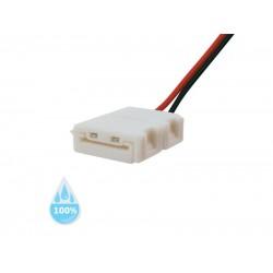 Konektor nepájivý pre LED pásiky 5050 30,60LED/m o šírke 10mm s vodičom, vodeodolný IP68