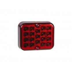 Hmlovka zadná LED STU červená