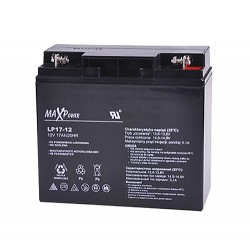 Batéria olovená 12V/17Ah MaxPower