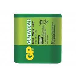 Batéria GP Greencell 4,5V plochá fólia