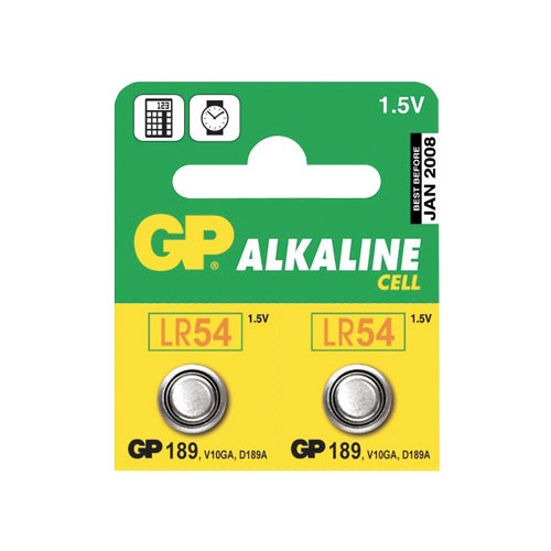 Batéria LR54 (189) GP alkalická