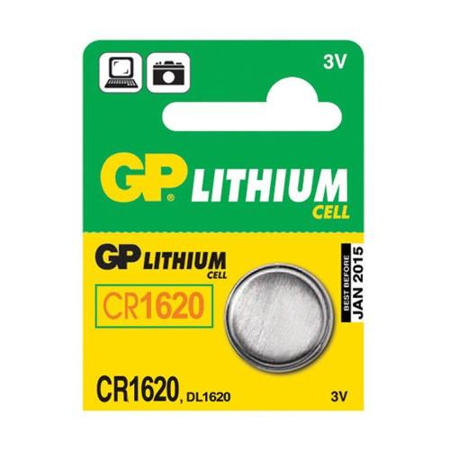 Batéria CR1620 GP líthiová