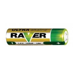 Batéria AA (R6) alkalická RAVER