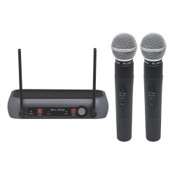 Mikrofón bezdrôtový BLOW PRM 902 BLACK