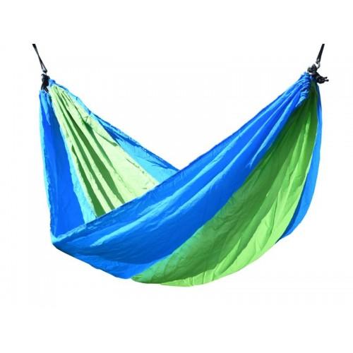 Hojdacia sieť NYLON 275x137cm zeleno-modrá