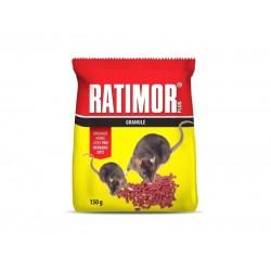 Granule proti myšiam, potkanom a krysám AgroBio Ratimor 150g