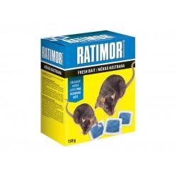 Nástraha proti myšiam, potkanom a krysám AgroBio Ratimor 150g