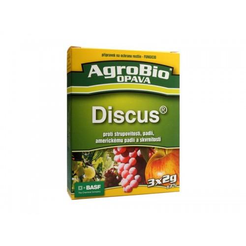 Prípravok proti chrastavitosti, múčnatke a škvrnitosti AgroBio Discus 3x2g