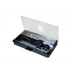 Spájkovačka vypalovačka 10W/ 30W s nástavcami, 27 hrotov + box