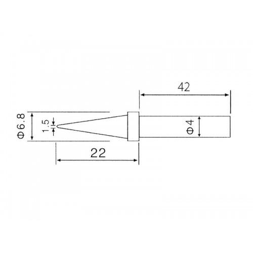 Hrot C1-1 (ZD-30C, ZD-99)