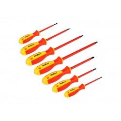 Sada skrutkovačov pre elektrikárov REBEL RB-1101 - 7 ks