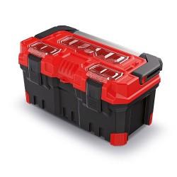 Kufor na náradie TITAN PLUS červený 496x258x240mm