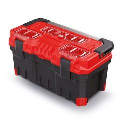 Kufor na náradie TITAN PLUS červený 554x286x276mm